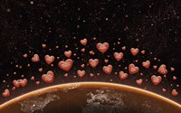 Hearts Over Earth's Horizon Fine-Art Print