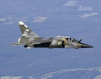 Mirage F1CR of the French Air Force over France Fine-Art Print