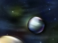 Planets in Space Fine-Art Print