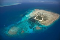 Green Island, Great Barrier Reef, Queensland, Australia Fine-Art Print