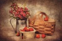 Strawberry Days Fine-Art Print