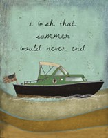 Wish Summer would never end Fine-Art Print