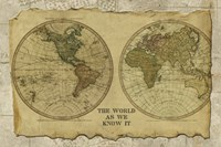 Antique Map I Fine-Art Print