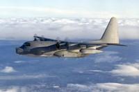 MC-130P Combat Shadow Soars Above the Clouds Fine-Art Print