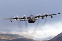 MC-130P Combat Shadow Over Scotland Fine-Art Print