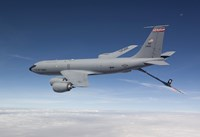 KC-135R Flies a Training Mission over Arizona Fine-Art Print