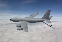 KC-135R Flies over Arizona Fine-Art Print