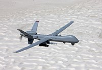 MQ-9 Reaper Over Southern New Mexico Fine-Art Print
