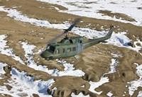 UH-1N Twin Huey, New Mexico Fine-Art Print