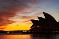 Australia, New South Wales, Sydney Opera House at Dawn Fine-Art Print