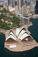 Sydney Opera House, Botanic Gardens, Sydney, Australia Fine-Art Print