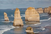 Coastline, 12 Apostles, Great Ocean Road, Port Campbell NP, Victoria, Australia Fine-Art Print