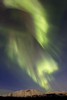 Aurora Borealis over Emerald Lake, Canada Fine-Art Print
