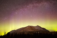 Aurora Borealis, Comet Panstarrs and Milky Way over Yukon, Canada Fine-Art Print