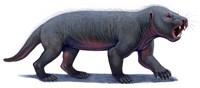 Kayentatherium, a Mammal-like Tritylodont of the Jurassic Period Fine-Art Print