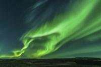 Large Aurora Borealis Display in Iceland Fine-Art Print