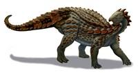 Scelidosaurus Dinosaur of the Early Jurassic Period Fine-Art Print
