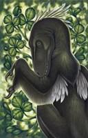 Deinonychus Antirrhopus from the Cretaceous Period Fine-Art Print