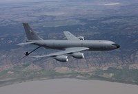 KC-135R Stratotanker in Flight over Central Oregon Fine-Art Print