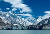 Tasman Glacier Terminal Lake, South Island, New Zealand Fine-Art Print