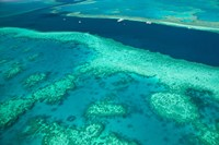 Australia, Whitsunday Coast, Great Barrier Reef (horizontal) Fine-Art Print