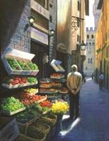 A Stroll in Florence Fine-Art Print