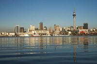 Auckland CBD skyline, North Island, New Zealand Fine-Art Print