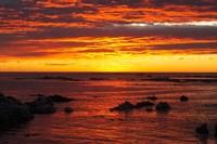Sunrise, Kaikoura, South Island, New Zealand Fine-Art Print
