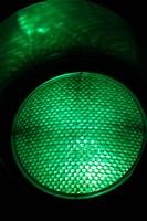 Green Traffic Light, New Zealand Fine-Art Print