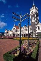 Historic Railway Station building, Dunedin, New Zealand Fine-Art Print