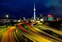 Motorways and Skytower, Auckland Fine-Art Print