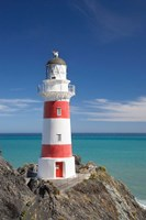 Historic Cape Palliser Lighthouse (1897), Wairarapa, North Island, New Zealand Fine-Art Print