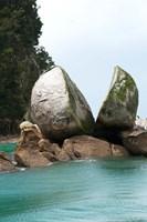 Split Apple Rock, South Island, New Zealand Fine-Art Print