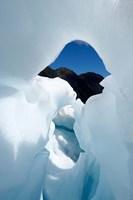 New Zealand, South Island, Franz Josef Glacier, Ice Fine-Art Print