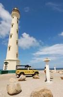 California Lighthouse, Oranjestad, Aruba Fine-Art Print