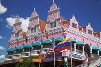 Royal Plaza Shopping Mall, Oranjestad, Aruba, Caribbean Fine-Art Print