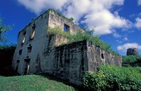 Sugar Plantation Ruins, Betty's Hope, Antigua, Caribbean Fine-Art Print
