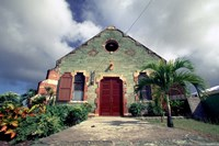 Old Anglican Church, Liberta, Antigua, Caribbean Fine-Art Print