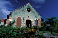 Village Church, Antigua, Caribbean Fine-Art Print