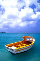 Close-up of Fishing Boat, Aruba Fine-Art Print