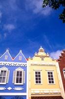 Dutch Architecture, Oranjestad, Aruba Fine-Art Print