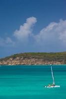 Antigua, Dickenson Bay, Sailboat Fine-Art Print