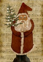 Old Time Santa Fine-Art Print