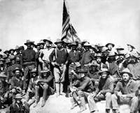 Colonel Theodore Roosevelt and The Rough Riders Fine-Art Print