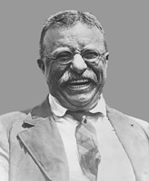 Theodore Roosevelt Smiling Fine-Art Print