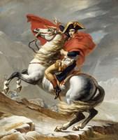 Napoleon Bonaparte on his Horse Fine-Art Print