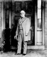 General Robert E Lee Standing Fine-Art Print