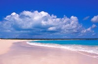 Pink Sand Beach, Harbour Island, Bahamas Fine-Art Print