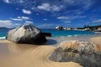 Beach on Spring Bay; British Virgin Islands Fine-Art Print