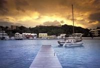 View of Flatts Village, Bermuda, Caribbean Fine-Art Print